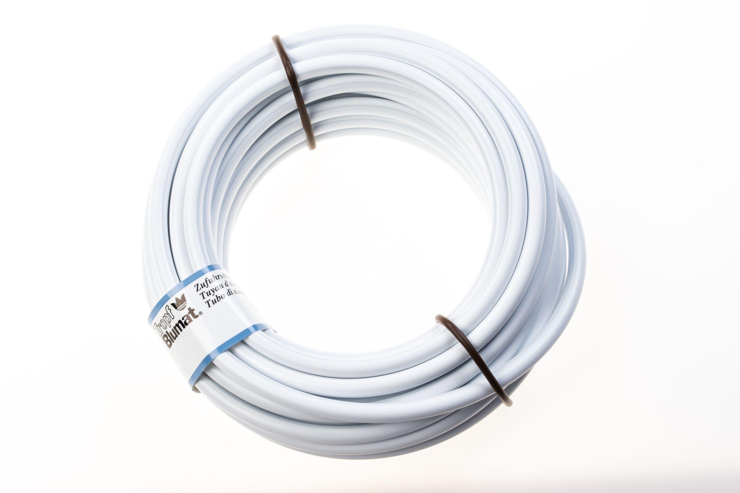 Blumat Aanvoerslang 8 mm wit 10 meter art 30504 – 4