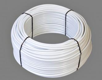 Aanvoerslang 8 mm wit 50 meter