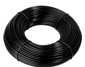 Aanvoerslang 8 mm zwart 100 meter