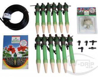 Blumat Maxi Set standaard met druppelslang en T-stuk